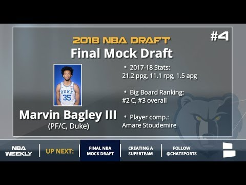 Final 2018 NBA Mock Draft