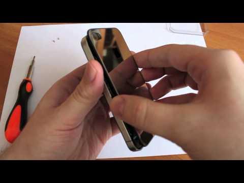 Металлическая задняя панель для iPhone 4 (iPhones.ru)