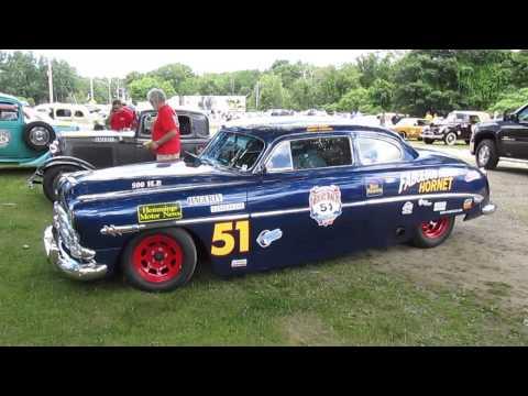 Hudson Hornet: Great Race starting point in Maine 2014