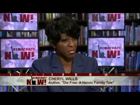 """Author Cheryl Wills featured on national program ""Democracy Now!"""