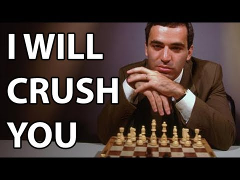 Chess Strategy: Kasparov Crushes with the Initiative