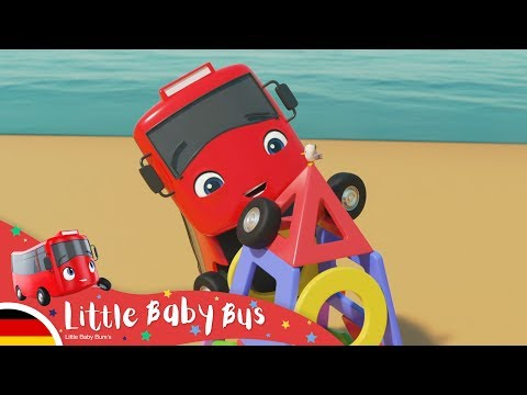 formen-lernen-mit-buster-und-digger- -kinderlieder- -little-baby-bus-deutsch- -cartoons-für-kinder