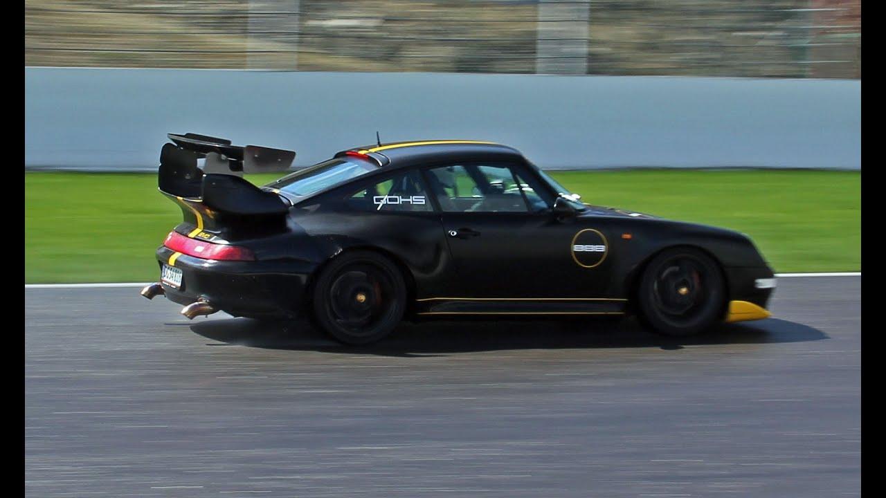 "Black Porsche 993 >> Porsche 993 ""GT2"" EVO w/ 500HP!! Loud Accelerations!! - YouTube"
