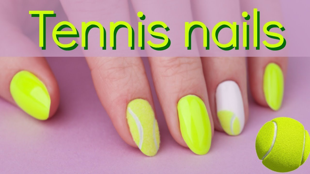 How to tennis ball nailart easy nail design tutorial youtube how to tennis ball nailart easy nail design tutorial prinsesfo Choice Image