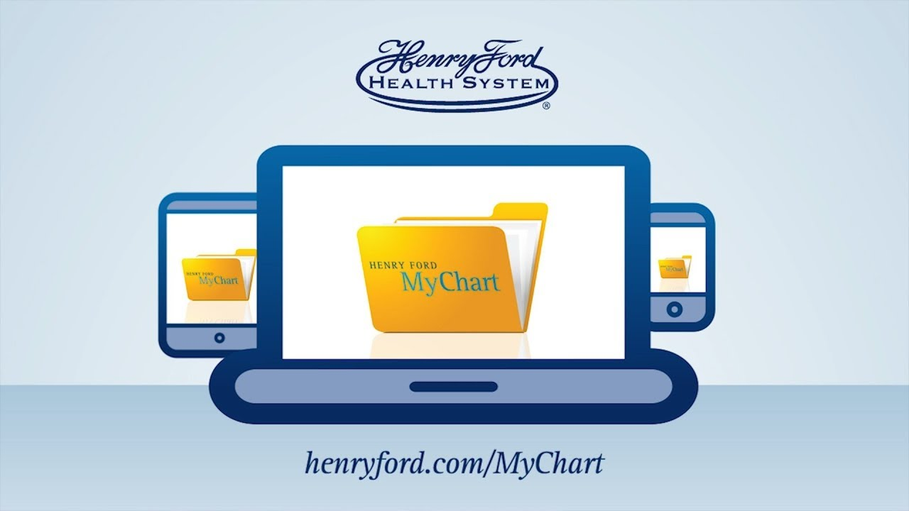 henry ford mychart. all for you! - youtube
