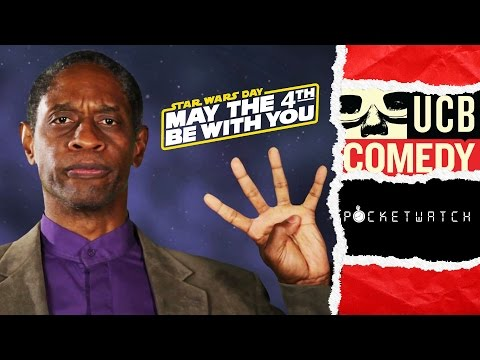 Star Trek's Tim Russ Explains Star Wars Day  by Pocketwatch