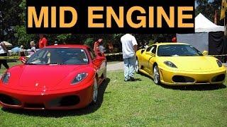 mid engine cars rwd vs awd