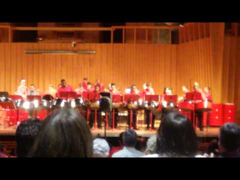 NIU steelband covers uptown funk