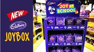 New Cadbury Joy Box with Box full of chocolates - Special Back to School Edition