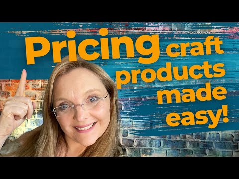 Handmade Business – Pricing craft products made easy!
