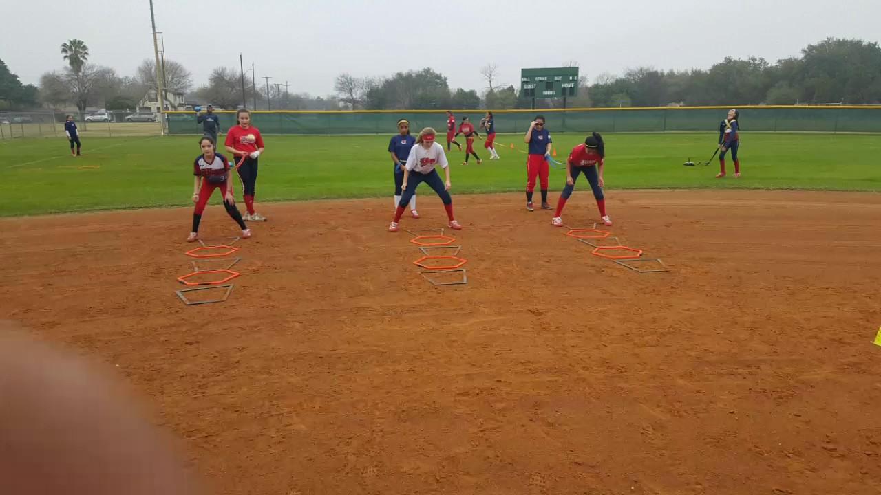 First Step Athletics Academy Texas BLAZE softball training