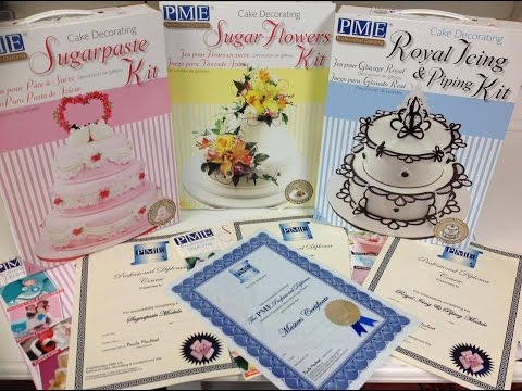 Pme Cake Decorating Diploma Courses