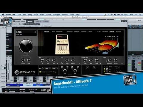 Altiverb 7 der High-End Reverb Review von Audioease - Test