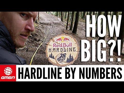 How Insane Is Red Bull Hardline?   Hardline By Numbers