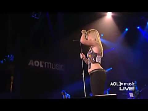 Kelly Clarkson - I Hate Myself For Losing You (AOL Music Live)