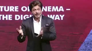 SRK at ETGBS in Delhi 24 February 2018