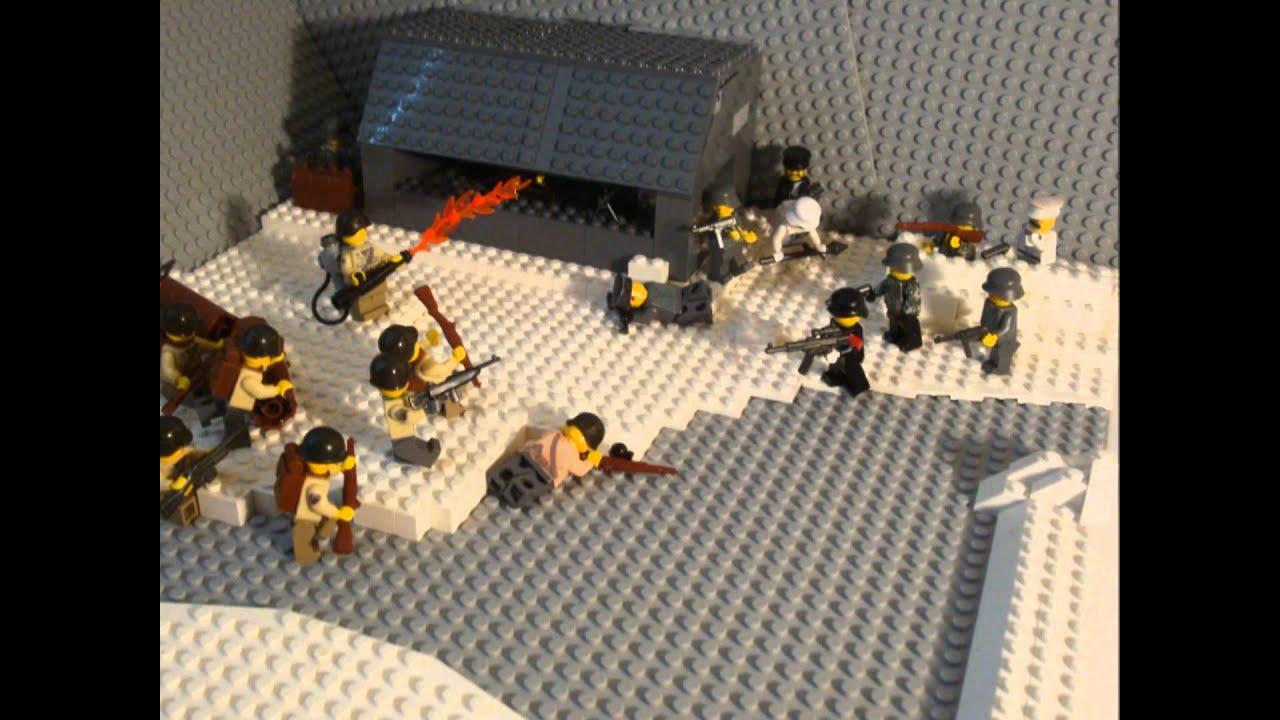 Lego Ww2 Winter Moc Youtube