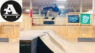 HEAVY 8 minutes of SKATEBOARDING - skaters edge skatepark taunton ma