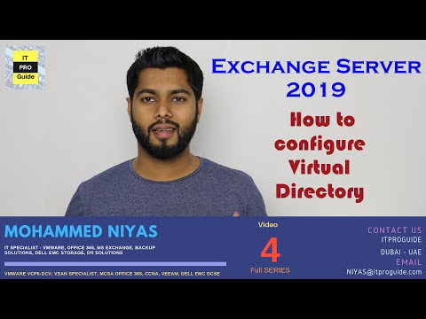 How to Configure External and Internal URL in Exchange 2019