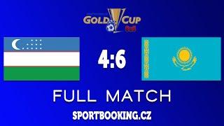 Full match KAZAKHSTAN VS UZBEKISTAN, ROUND 12 (GOLD CUP PRAHA)