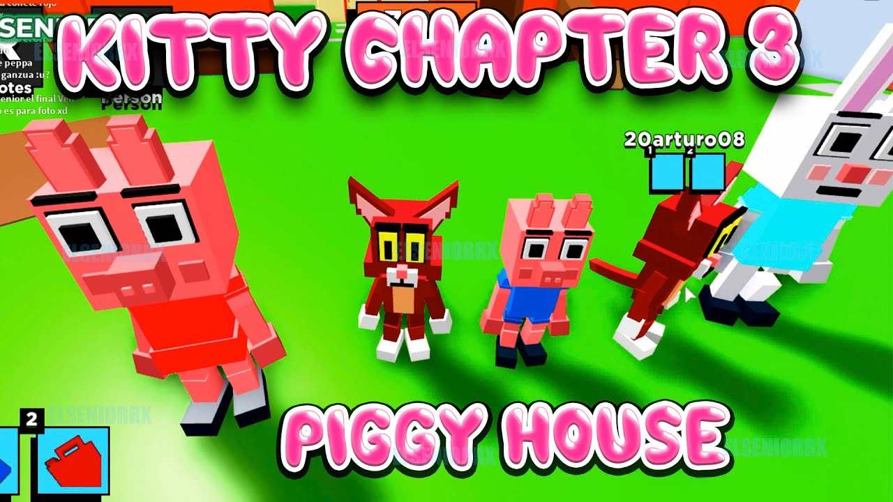 KITTY CHAPTER 3 PENNY PIG HOUSE CODE 10000 CHEESE ~ Kitty Roblox ~ ELSENIORRX