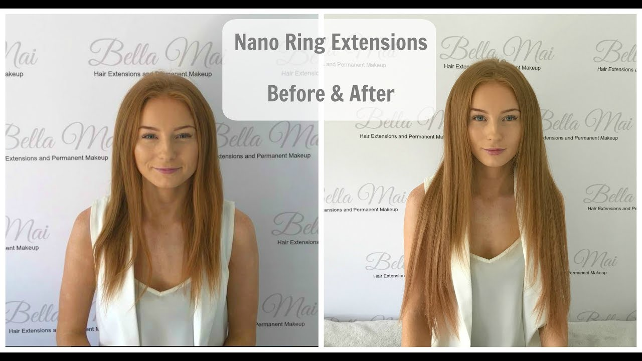 Nano Ring Extensions Before After And During Youtube