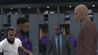 Kareem Abdul-Jabbar Teaching Me How To Fix My HAIRLINE! NBA 2k19 MyCareer Ep.21