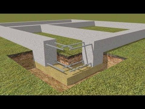 Самый классический фундамент - Ленточный (МЗЛФ) / The Foundation Strip