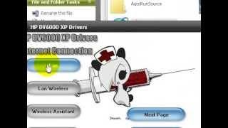 HP DV6000 XP DRIVERS