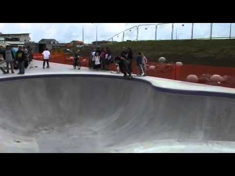 Barry Curtis Skatepark Opening Day