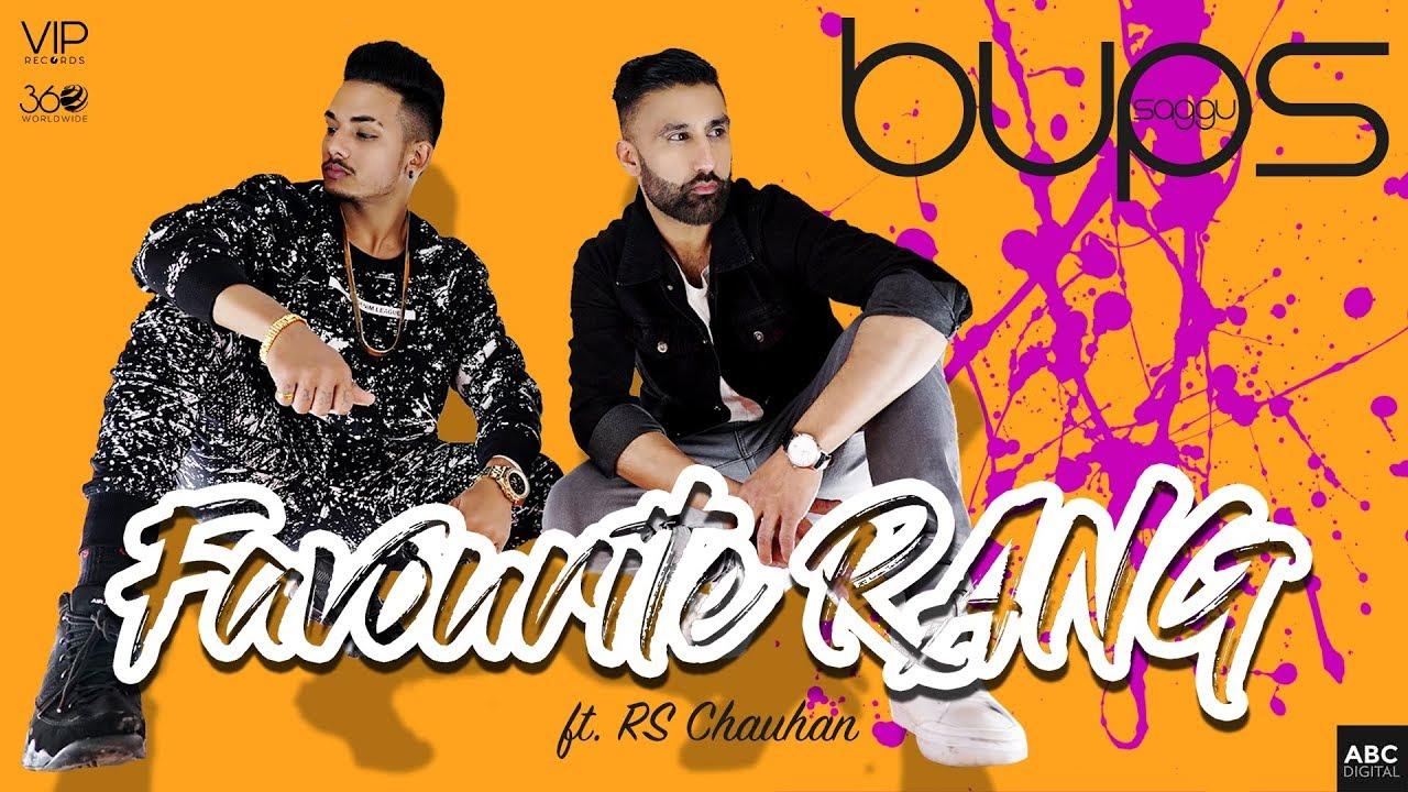 Favourite Rang | Bups Saggu ft. RS Chauhan | VIP Records | Latest Punjabi Songs 2019 #1