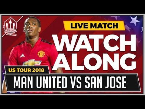 Manchester United vs San Jose Earthquakes LIVE Watchalong thumbnail