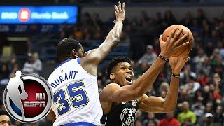 Kevin Durant outduels Giannis in Milwaukee | ESPN