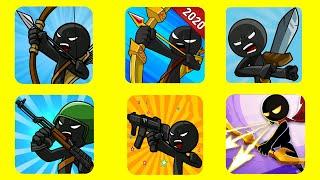 Stick War Legacy Vs It's Copies. Stick Modern War Vs Stick Fight War Vs Stickman War Legend of Stick