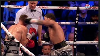 SHOULD REFEREE HAVE STOPED LIAM WALSH FIGHT AGAINST GEVONTA DAVIS? - BOXNATION PUNDITS ARGUE CASE