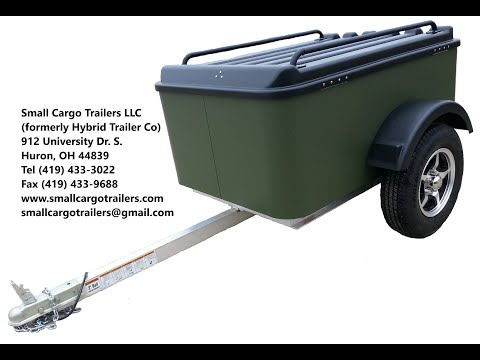 Inexpensive Small Cargo Trailer Walkthrough- Vacationer Model