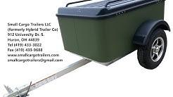 Inexpensive Small Cargo Trailer Walkthrough- Vacationer Model