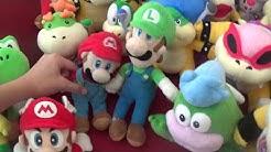 Mario Plush Collection - September 2018