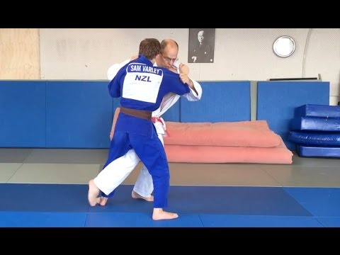 OUCHI GARI  大内刈  Judo Inner reap throw   includes 6 competitive variations