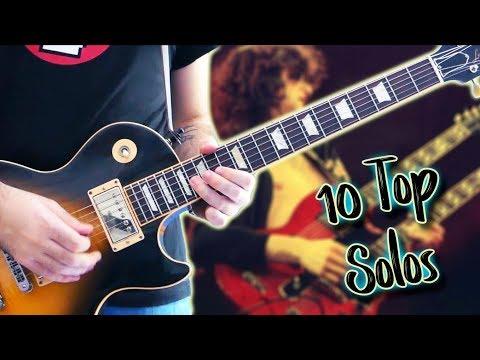 Top 10 Guitar Solos Of Each Decade - Part 2. 70s (ft Karl Golden)