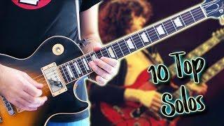Top 10 Guitar Solos Of Each Decade   Part 2 70s ft Karl Golden