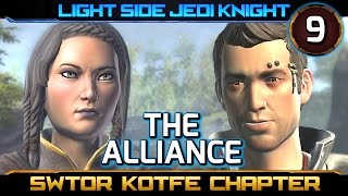SWTOR Knights of the Fallen Empire ► CHAPTER 9, The Alliance - Light Side Jedi Knight (KOTFE)