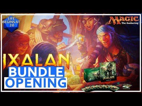 MTG Ixalan Bundle Opening - Stumble Across Buried Treasure?!?