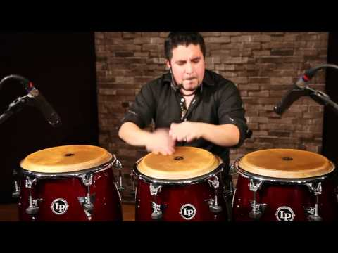 Samuel Torres solo on LP Top Tuning Congas