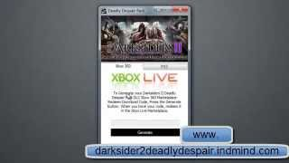Darksiders 2 deadly despair - Xbox 360 Redeem Codes
