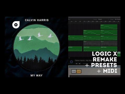 Calvin Harris - My Way (Logic X Remake)