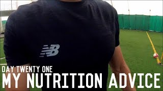 Nutrition For Footballers | The Pre-Preseason Program | Day Twenty One