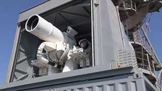 New US Military Laser Gun on USS Ponce