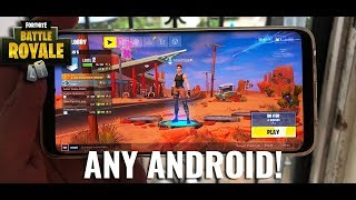 Download & Play Fortnite On Any Non-supported Android Devices NO-ROOT (New Working Method) 2019
