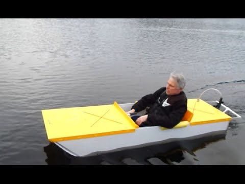 Sparky, a DIY electric boat - YouTube